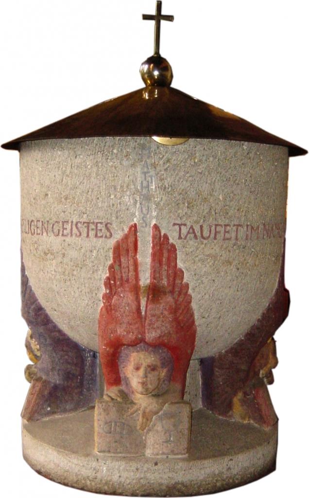 Taufstein Matthäusseite
